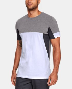 New Arrival Men's UA Sportstyle Colorblock T-Shirt  2 Colors $35