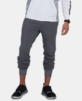 Men's UA Microthread Terry Joggers  4  Colors Available $48 to $60