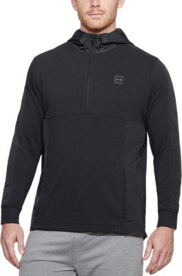 Under Armour Men/'s Pursuit Micro Thread Hoodie Grey 1317416