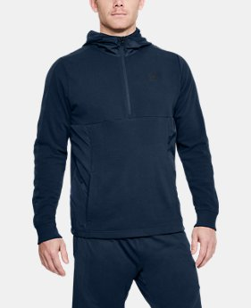 Men's UA Microthread Terry Hoodie  1 Color $70