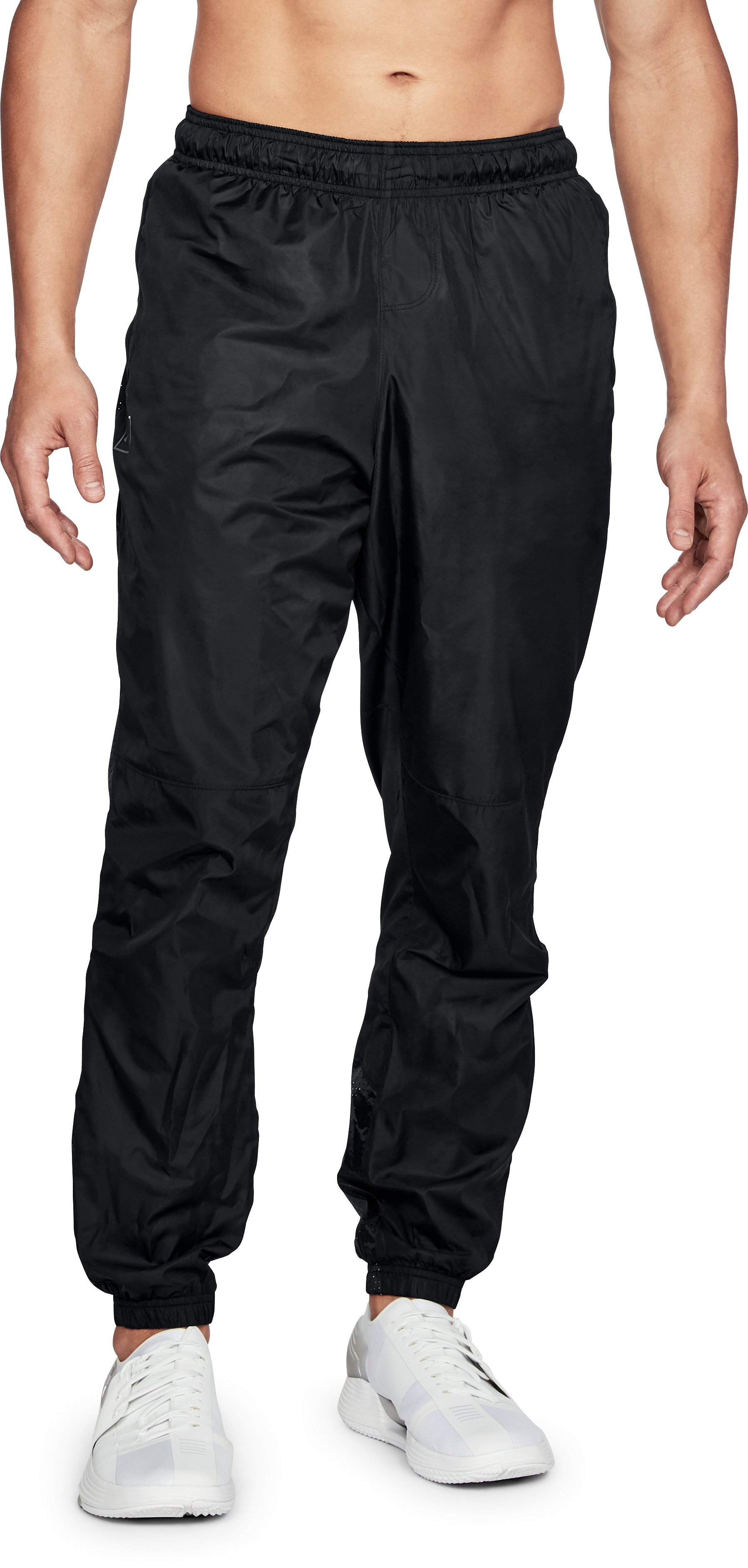Men's UA Sportstyle Wind Pants, Black