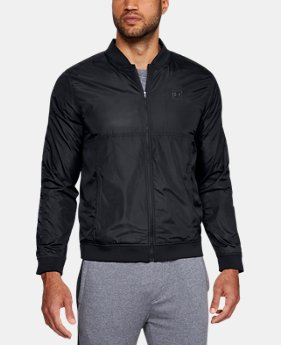 Men's UA Sportstyle Wind Bomber Jacket  3  Colors Available $75