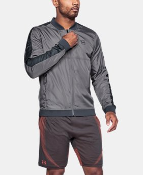 New Arrival Men's UA Sportstyle Wind Bomber Jacket  1 Color $75