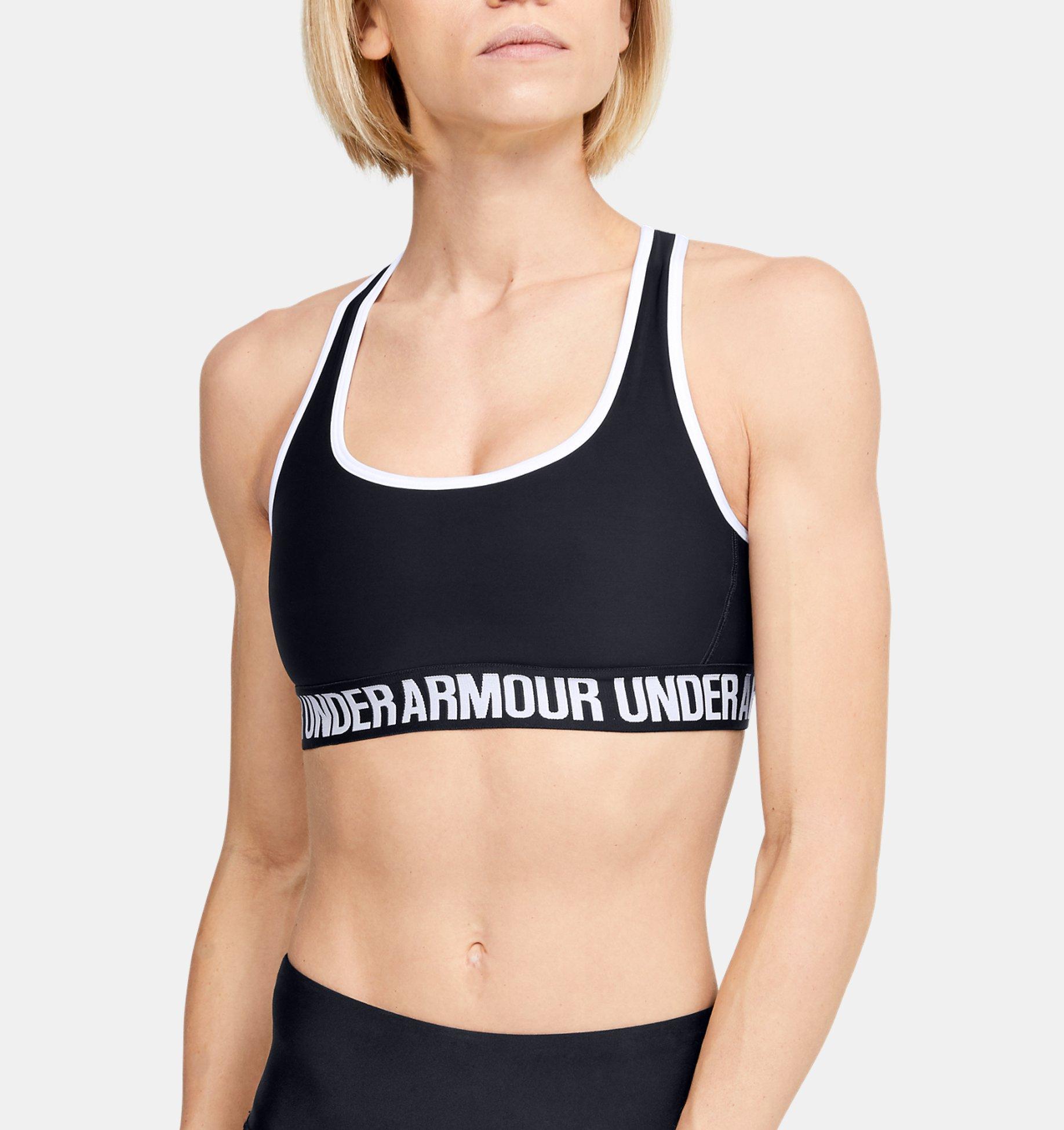 Underarmour Womens UA Crossback Mid Sports Bra