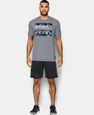 New Arrival Men's UA x Ali Float Sting T-Shirt  1 Color $34.99