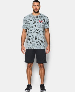 New Arrival Men's UA x Ali AOP T-Shirt  1 Color $34.99