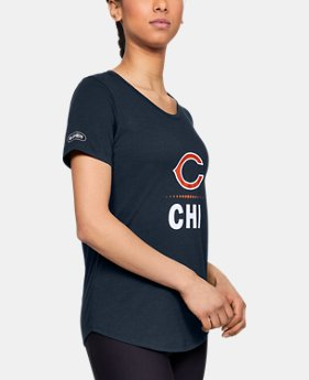 Women's NFL Combine Authentic Lockup T-Shirt  1  Color Available $35