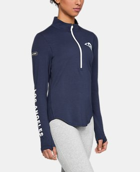 Women's NFL Combine Authentic UA Favorite ½ Zip Long Sleeve Shirt  1  Color Available $60