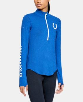 Women s NFL Combine Authentic UA Favorite ½ Zip Long Sleeve Shirt 1 Color  Available  60 010578504
