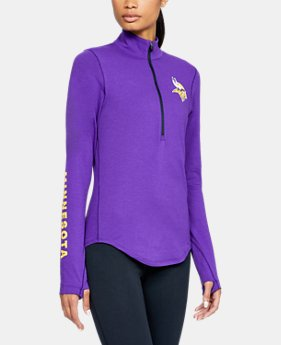 New Arrival Women's NFL Combine Authentic UA Favorite ½ Zip Long Sleeve Shirt  1  Color Available $60