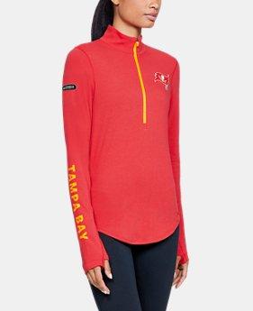 Women s NFL Combine Authentic UA Favorite ½ Zip Long Sleeve Shirt 1 Color  Available  45.99 1312f3a78