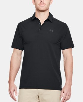 New Arrival Men's UA Playoff Vented Woven Polo  1 Color $65
