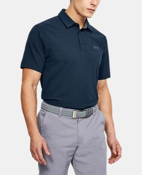 New Arrival  Men's UA Playoff Vented Woven Polo  1 Color $75