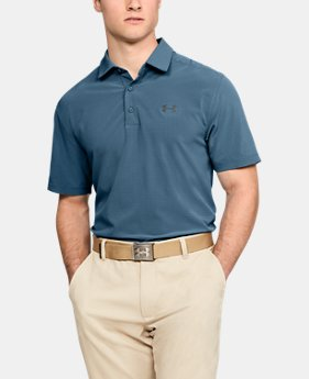 Men's UA Playoff Vented Woven Polo  4  Colors $65