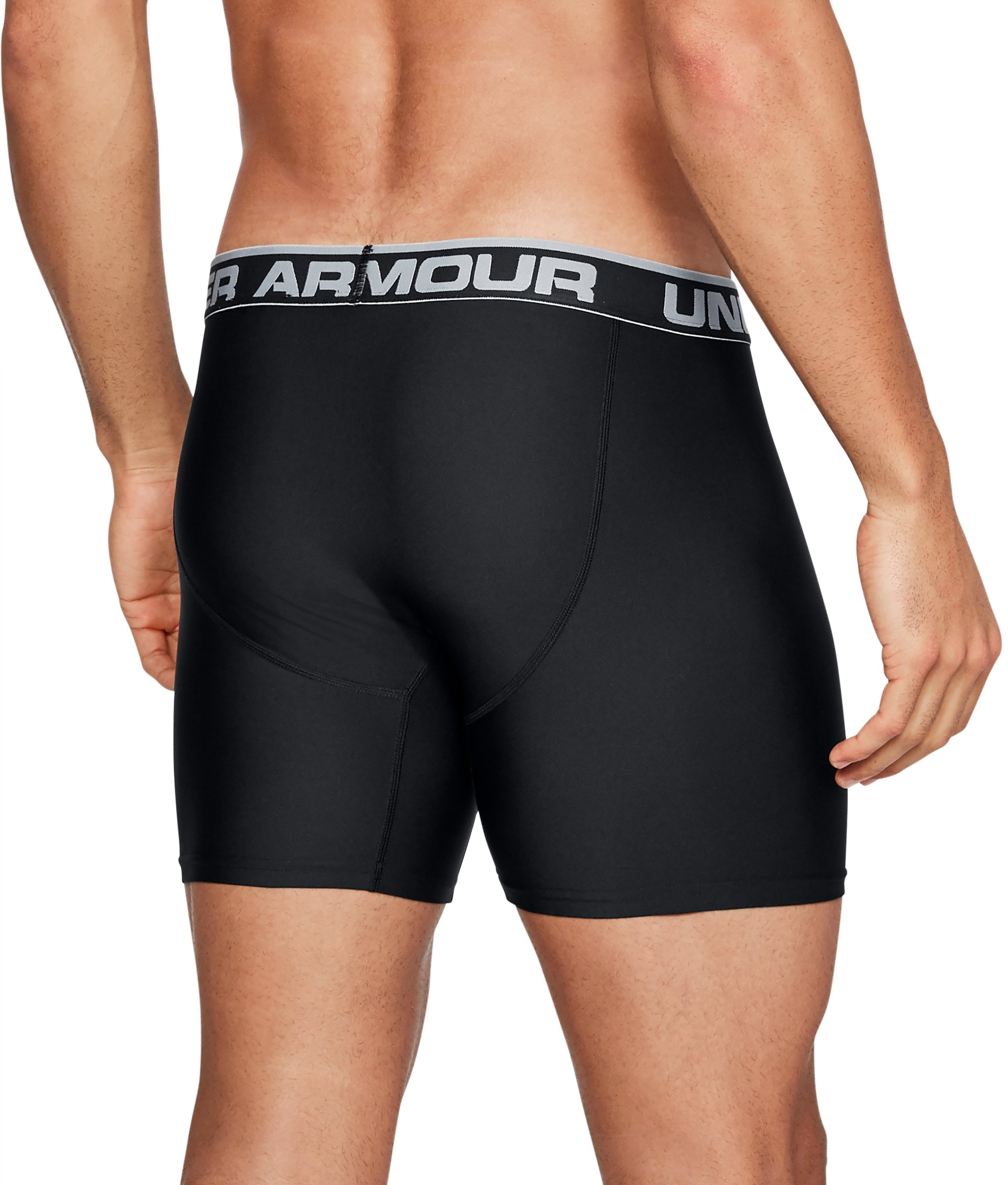 "Men's UA Original Series 6"" Boxerjock®, Black ,"