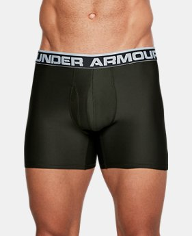 "Best Seller Men's UA Original Series 6"" Boxerjock® 3 for $50  $20"