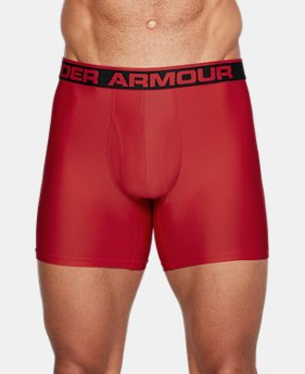 "3 for $50 Men's UA Original Series 6"" Boxerjock®  2 Colors $20"