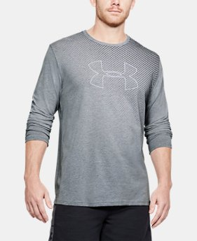 Men's UA Branded Gradient Long Sleeve  1 Color $35