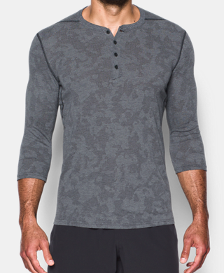 Men's UA Threadborne 3/4 Utility Henley