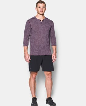 Men's UA Threadborne™ ¾ Utility Henley  5 Colors $49.99