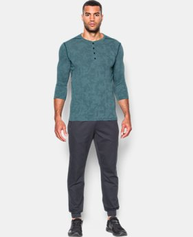 Men's UA Threadborne™ ¾ Utility Henley  2 Colors $59.99