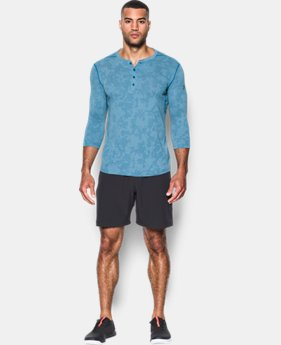 Men's UA Threadborne™ ¾ Utility Henley  4 Colors $59.99