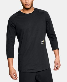 New Arrival Men's UA Perpetual ¾ Sleeve  1 Color $55