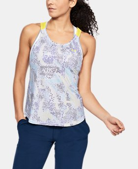 New Arrival Women's UA Armour Sport Strappy Print Tank  1 Color $40