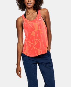 Women's UA Armour Sport Graphic Strappy Tank  1  Color Available $24