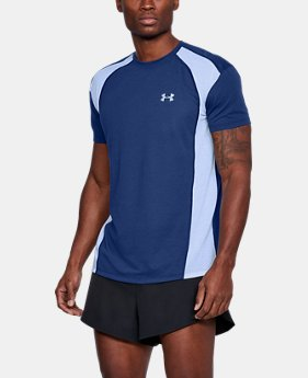 New Arrival Men's UA Streaker Mesh Short Sleeve  2 Colors $35