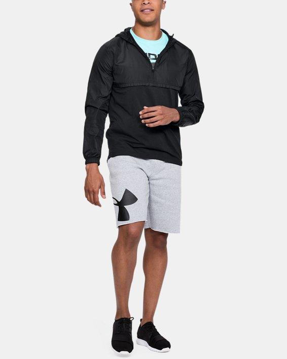 Men's UA Sportstyle Anorak, Black, pdpMainDesktop image number 1