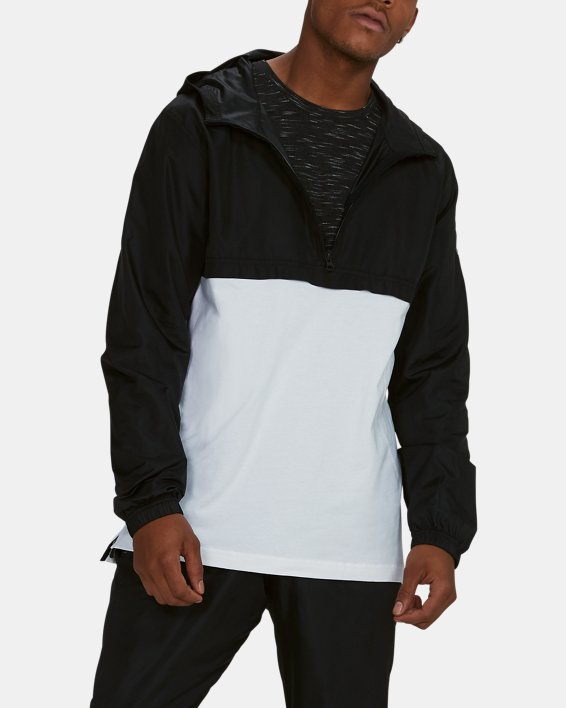 Anorak UA Sportstyle Wind pour homme, White, pdpMainDesktop image number 2
