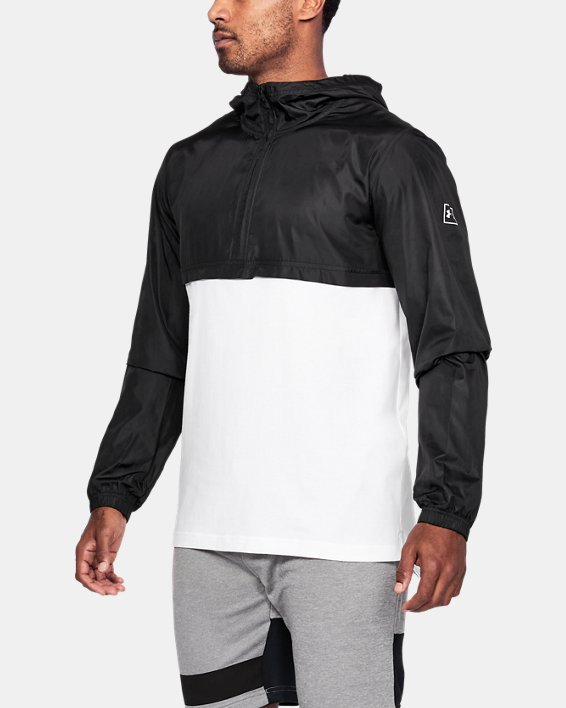 Anorak UA Sportstyle Wind pour homme, White, pdpMainDesktop image number 0