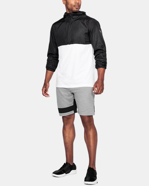 Anorak UA Sportstyle Wind pour homme, White, pdpMainDesktop image number 1