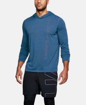 New Arrival Men's UA Threadborne Hoodie  1 Color $45