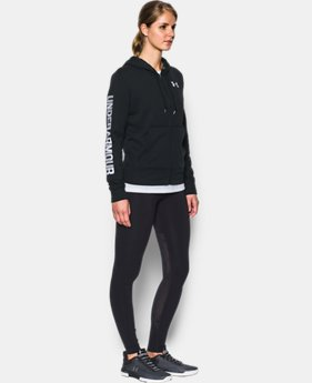 Women's UA Terry Full Zip Hoodie  1 Color $49.99
