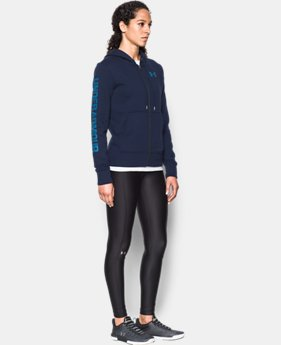 Women's UA Terry Full Zip Hoodie  1 Color $59.99