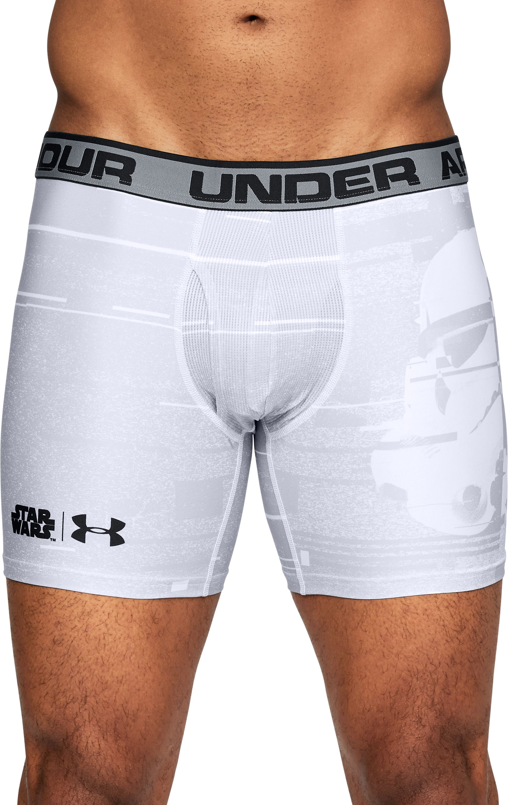 Men's Star Wars Trooper UA Original Series Boxerjock®, White