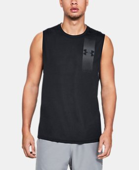Men's UA Siro Muscle Tank Graphic  2  Colors Available $35