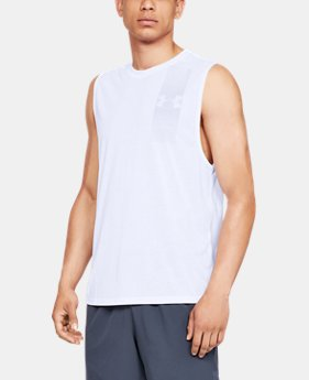 47a7cddeb6cb6 Men s UA Siro Muscle Tank Graphic 1 Color Available  18