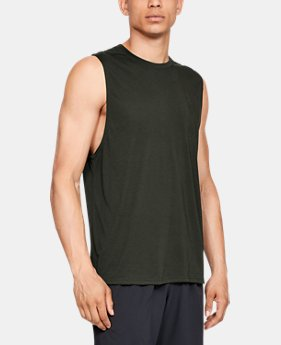 Men's UA Siro Muscle Tank Graphic  1  Color Available $30