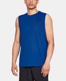 Men's UA Siro Muscle Tank Graphic  6  Colors Available $35
