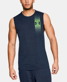 Men's UA Siro Muscle Tank Graphic FREE U.S. SHIPPING 4  Colors Available $30