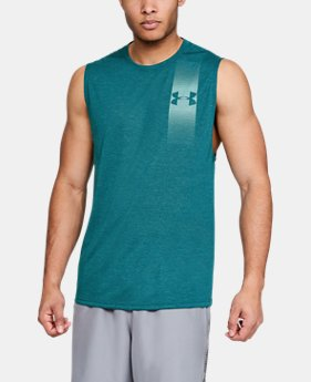 Men's UA Siro Muscle Tank Graphic  4  Colors $30
