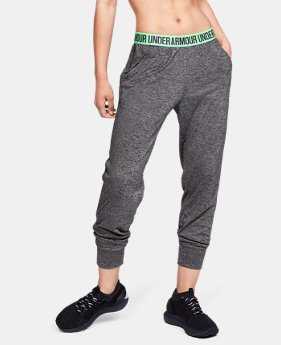 Women's UA Play Up Twist Pants  1  Color Available $45