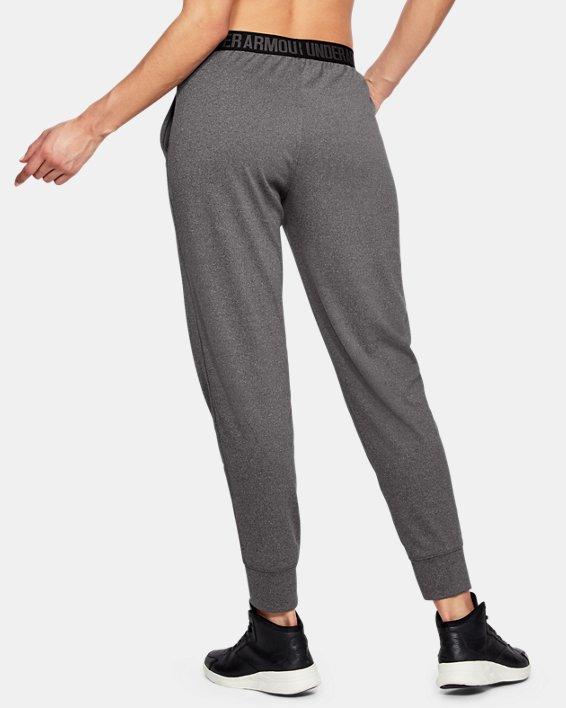 Women's UA Play Up Pants, Gray, pdpMainDesktop image number 2