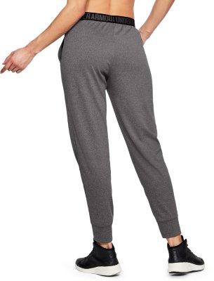 NEW UNDER ARMOUR UA HEATGEAR Gray Black Jogger Play Up Pant Pants MEDIUM M
