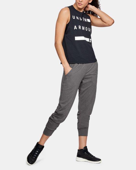 Women's UA Play Up Pants, Gray, pdpMainDesktop image number 1
