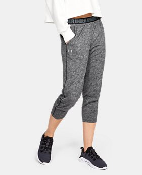095c527e25 New to Outlet Women's UA Play Up Twist Capri 1 Color Available $30.99
