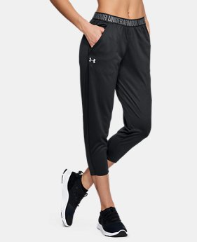 045576a2a Women's UA Play Up Capris 2 Colors Available $40